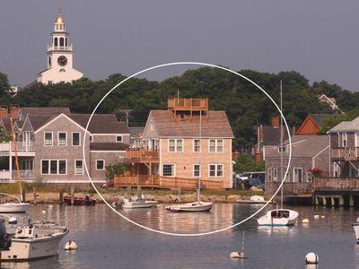 Photo for Waterfront Downtown Apartment on Nantucket Harbor - As Good as it Gets!
