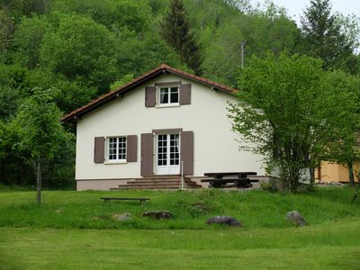 Photo for CHALET 6P, HIGH VOSGES, ALTITUDE 550m, VERY QUIET, HIKING, BIKES, LAKE