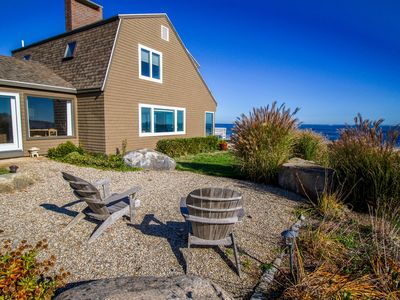 Photo for Oceanfront Cape Ann retreat w/ stunning  views, fireplace, deck, & gas grill!