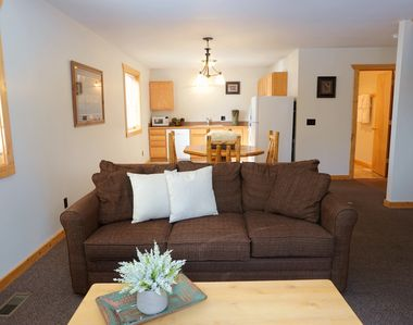 Photo for The Aspen-Comfortable two bedroom, just two minutes to Yellowstone