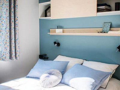 Photo for Camping La Chataigneraie **** - Riviera Comfort 3-room mobile home 4 people