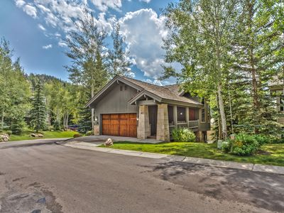 Photo for Deer Valley Home 40 Ft from Ski Run. Pool Table, Hot Tub, Views!!