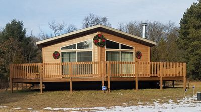 Photo for New on market.  Cabin with 3 beds and 3 baths surrounded by forest