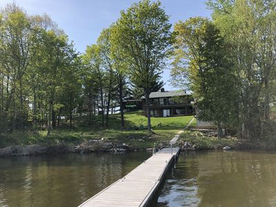 Photo for Family friendly cottage on beautiful Peninsula  Lake near Huntsville, Ontario