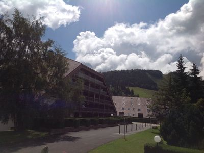 Photo for Furnished studio ideally located at the foot of the slopes Métabief 4 or 5