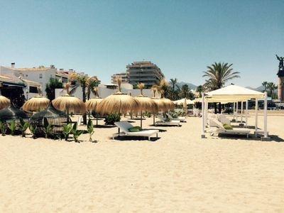 Photo for In the port at Puerto Banus - Superb location!
