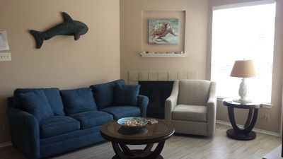 """Photo for """"Island Time"""" is a Beautiful 1/1 Condo, 1 Block from the Beach, Great Amenities"""