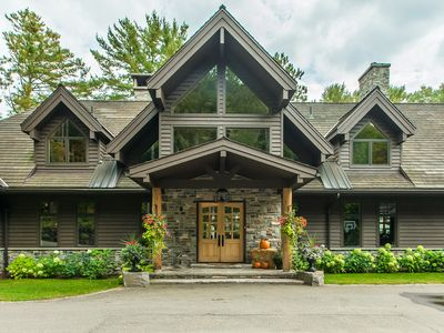 Photo for SeaBreeze ~ A spectacular custom built lake house on Lake of Bays