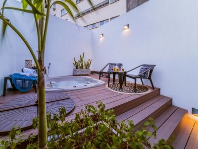 Photo for Granada Executive Suites - First Class, Rooftop, Jacuzzi Living Penthouse