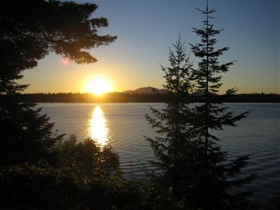 Photo for Hayden Lake Summer Home/Private Dock/Spectacular Sunsets