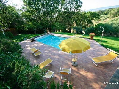 Photo for Casale Marittimo Lia con piscina - Apartment for 6 people in Casale Marittimo