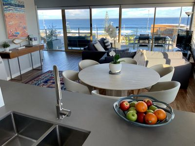 Modern ocean front apartment with amazing views