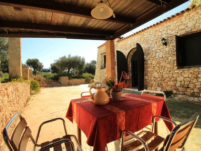 Photo for Piperita lovely trullo apartment in Pescoluse with WiFi, air conditioning, private parking, private…