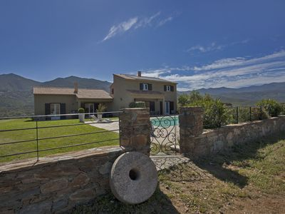 Photo for 2 villas with swimming pool in an olive grove in Corsica: relaxation and serenity ...