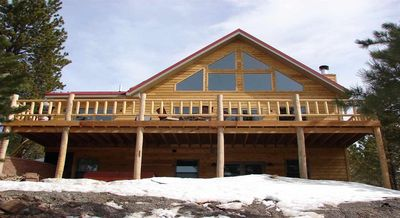 Photo for AMAZING 6 bedroom SECLUDED Cabin at Terry Peak Ski Resort with VIEWS!!!