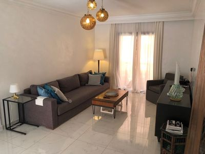 Photo for BEAUTIFUL MODERN APARTMENT IN THE HEART OF GUELIZ