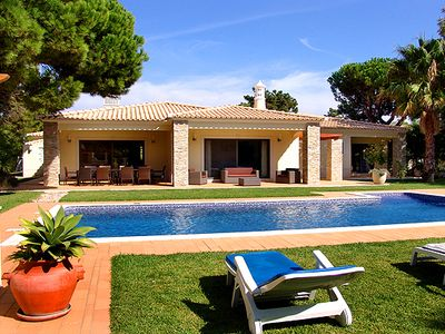 Photo for Beautiful 5 bedroom villa with WiFi, Air-Con and Private Pool W122