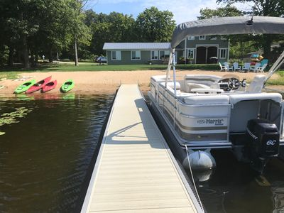 Photo for Endless Summer & Sand - PONTOON INCLUDED!