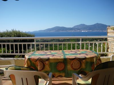 Photo for Panoramic view of the Gulf of Ajaccio