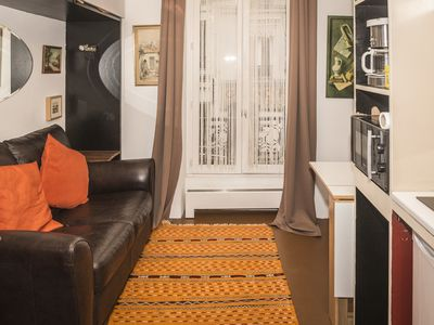 Photo for Charming studio near Montmartre and the Moulin Rouge