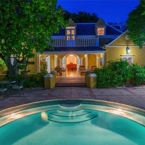 Estate on a beautiful beachfront location with swaying palms and white sand - Caribbean Heaven