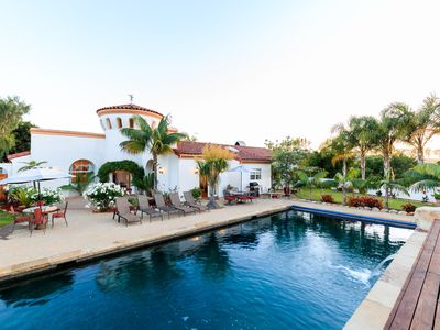 Photo for Stunning 25 Acre Gated Private Santa Barbara Estate, Salt Water Pool, and Spa