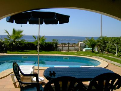 Photo for Toplage Menorca - beautiful villa directly by the sea