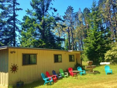 Photo for Meadowlark House on 50+ acre Mendocino Tranquility Meadows Nature Preserve