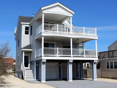 Photo for Magnificent, New, OceanSide Reversed Living Beach House