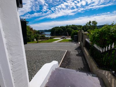 Photo for Eryl Mor stunning dog friendly house in Menai Bridge with sea views sleeps 14