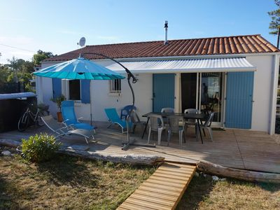Photo for House comfortable at 2 steps from the beach