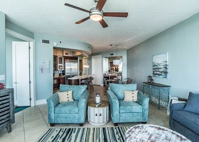 Beautiful Living Space with All Brand New Furniture