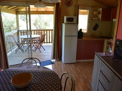 Photo for Chalet N 2, T3 6 pers Residence Les Pescalunes ideally located in the heart of the pine forest