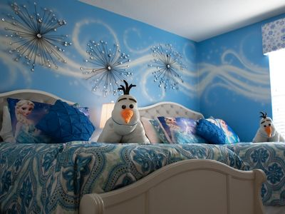 Photo for FROZEN & AVENGERS resort retreat w/ private pool & baby gear near Disney World!