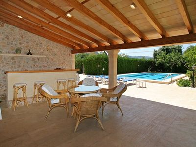 Photo for Villa ten minutes walk from Pollensa