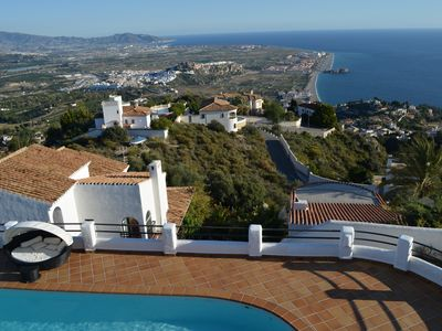 Photo for Stunning Villa with beautiful views and private pool