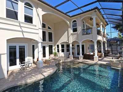 Photo for Stunning, Custom Built,  5,000 Sq. Ft. Home with River to Gulf Access -  Whispering Palms