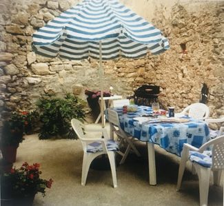 Photo for Very nice house in old Minervois village animals accepted with pleasure