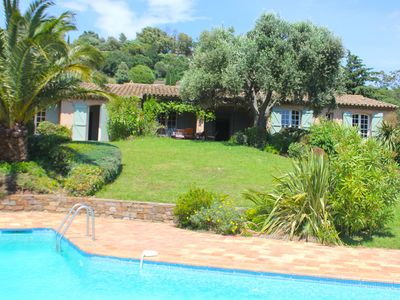 Photo for Provencal detached villa with private pool on TOP location and beautiful view