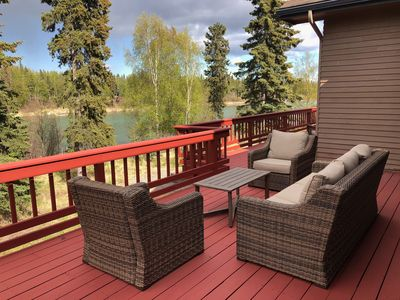 Photo for Amazing Kenai River Front Home With Beautiful Views