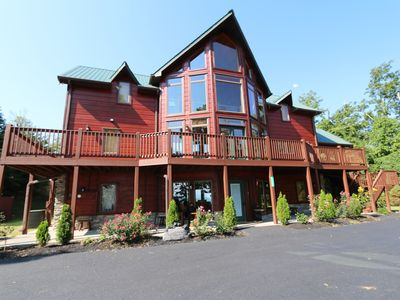 Photo for Spectacular 360° Valley Views! 10min to Pigeon Forge, HotTub/PoolTable/Firepit