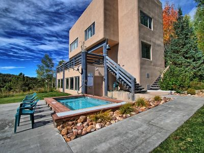 Photo for Beautiful Lodge and Private 600 acre Canyon Paradise