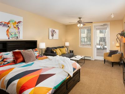 Photo for Founders Pointe 4345 by WPLCo | Hip Modern Studio | Ski In/Ski Out | Pool + Hot Tub