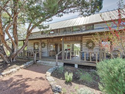 Photo for Quiet, dog-friendly cabin with an upscale rustic interior, close to downtown!