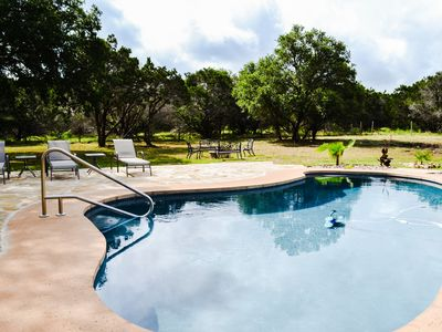 Photo for Spectacular Hill Country Home w/ Private Pool on 7+ Acres!