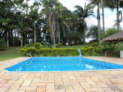 Photo for BEAUTIFUL SITIO WITH POOL AND BARBECUE IN IBIUNA