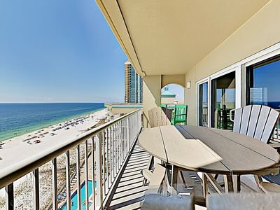 Photo for Luxe Beachfront Haven w/ Pool & Hot Tub - By TurnKey