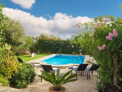 Photo for Charming traditional holiday villa for 6 with pool and lovely outdoor space