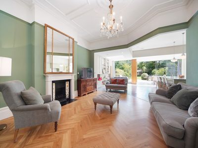 Photo for Fabulous Victorian House, 3 mins to tube + parking