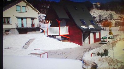 Photo for Chalet''Le Chardon '' 67m2 + 20m2 rental from 2 to 7 people with flexible option